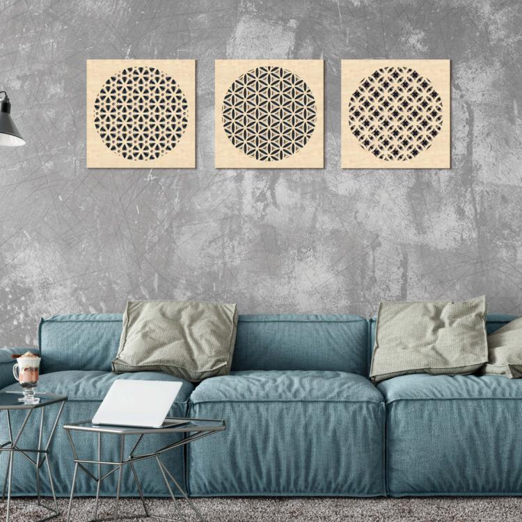 Triptyque tableaux Dream